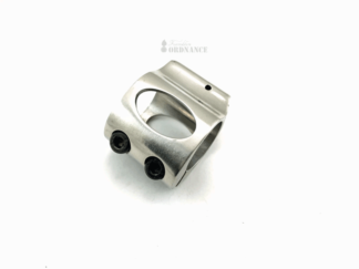 AR-15 Low Profile Gas Block - Stainless Steel